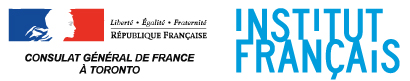Logos for Consulat General of France and the Institut Francais