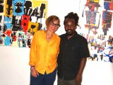 Pamela Edmonds and Chiko Chazunguza