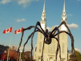 Louise Bourgeois's Maman at National Gallery